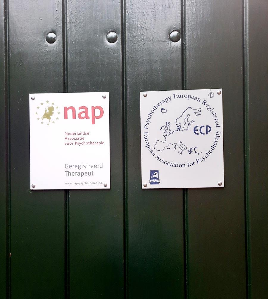 Drzwi wejściowe do gabinetu